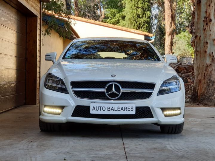 Mercedes CLS Shooting Brake 350 CDI 7 GTRONIC+ PACK AMG BLANC NACRE - 5