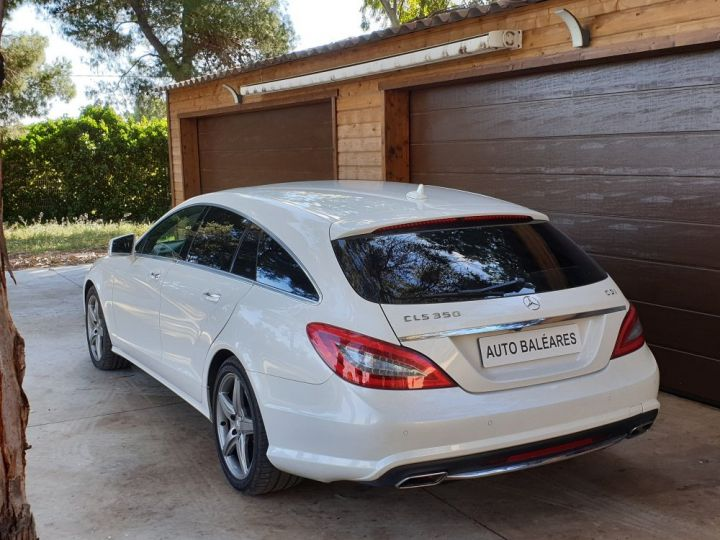Mercedes CLS Shooting Brake 350 CDI 7 GTRONIC+ PACK AMG BLANC NACRE - 21