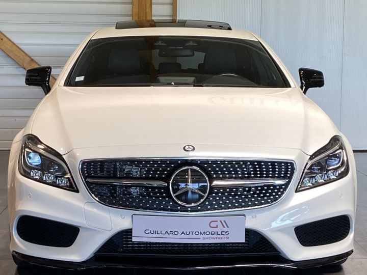 Mercedes CLS Shooting Brake 350 D FASCINATION PACK AMG 258ch 9G-TRONIC BLANC NACRE - 2