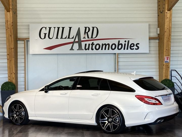 Mercedes CLS Shooting Brake 350 D FASCINATION PACK AMG 258ch 9G-TRONIC BLANC NACRE - 6