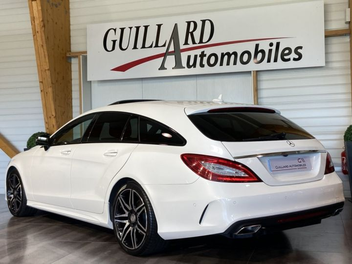Mercedes CLS Shooting Brake 350 D FASCINATION PACK AMG 258ch 9G-TRONIC BLANC NACRE - 7