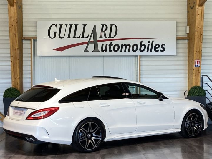 Mercedes CLS Shooting Brake 350 D FASCINATION PACK AMG 258ch 9G-TRONIC BLANC NACRE - 9