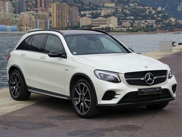 Mercedes GLC Blanc Diamant Metal - 3