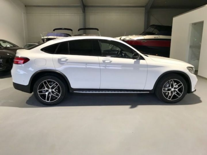 Mercedes GLC 220 D 170CH FASCINATION 4MATIC 9G-TRONIC BLANC Occasion - 3