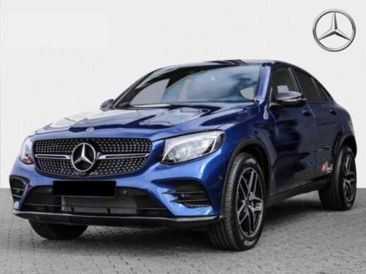 Mercedes GLC 250 211CH SPORTLINE 4MATIC 9G-TRONIC BLEU Occasion - 1