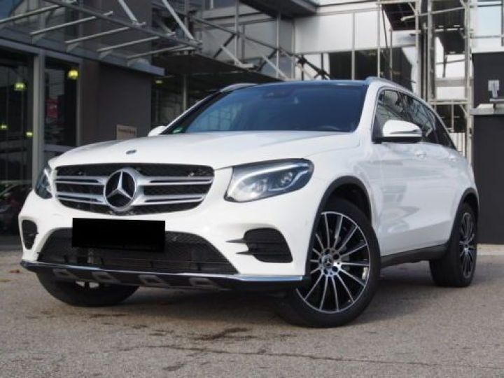 Mercedes GLC 250 D 204CH 4MATIC 9G-TRONIC BLANC Occasion - 1