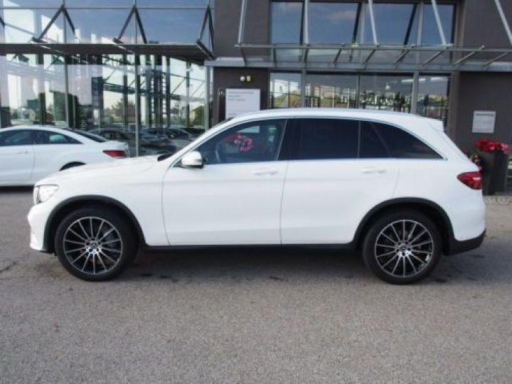 Mercedes GLC 250 D 204CH 4MATIC 9G-TRONIC BLANC Occasion - 2