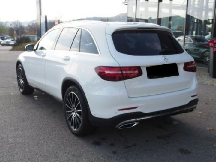 Mercedes GLC 250 D 204CH 4MATIC 9G-TRONIC BLANC Occasion - 3