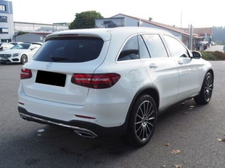 Mercedes GLC 250 D 204CH 4MATIC 9G-TRONIC BLANC Occasion - 4