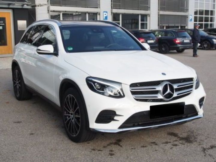 Mercedes GLC 250 D 204CH 4MATIC 9G-TRONIC BLANC Occasion - 6