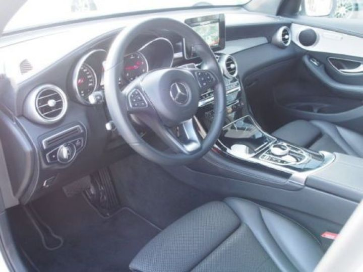 Mercedes GLC 250 D 204CH 4MATIC 9G-TRONIC BLANC Occasion - 7