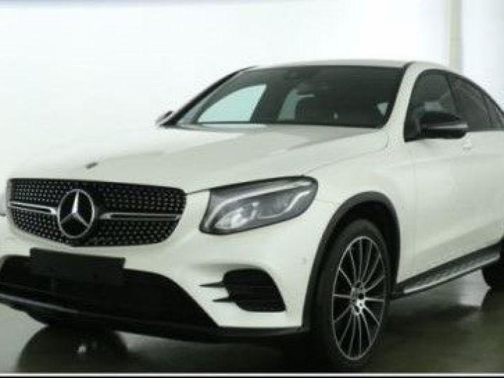 Mercedes GLC 250 D 204CH SPORTLINE 4MATIC 9G-TRONIC BLANC Occasion - 1