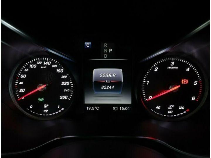 Mercedes GLC 250 d 4Matic / Affichage tête haute / GPS / Bluetooth / Toit panoramique /Garantie 12 mois Noir métallisée  - 7