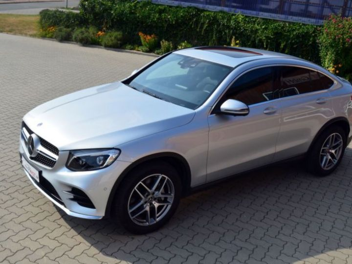 Mercedes GLC 350 D 258CH FASCINATION 4MATIC 9G-TRONIC GRIS Occasion - 1