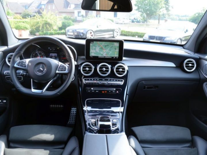 Mercedes GLC 350 D 258CH FASCINATION 4MATIC 9G-TRONIC GRIS Occasion - 2