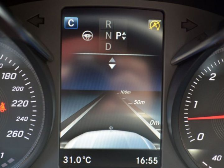 Mercedes GLC 350 D 258CH FASCINATION 4MATIC 9G-TRONIC GRIS Occasion - 12