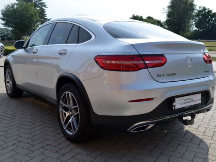 Mercedes GLC 350 D 258CH FASCINATION 4MATIC 9G-TRONIC GRIS Occasion - 16