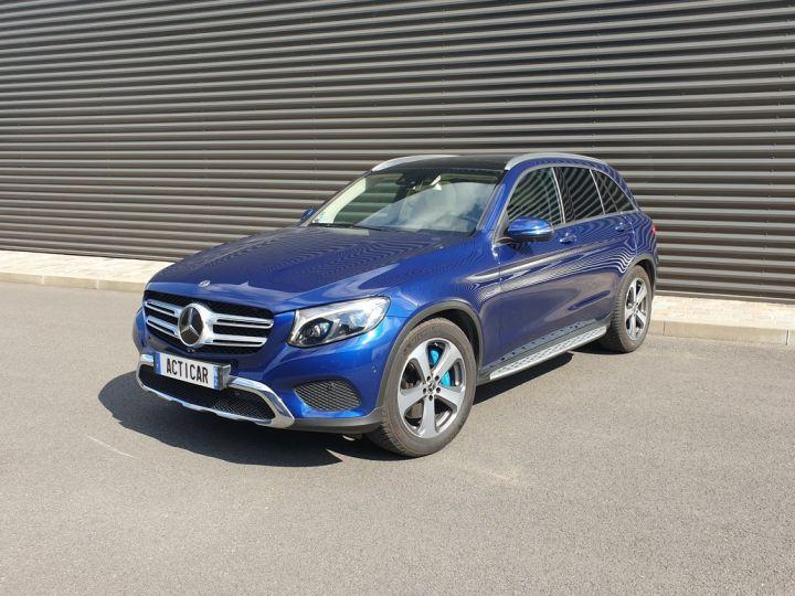 Mercedes GLC 350 e fascination 4matic bva Bleu Occasion - 1