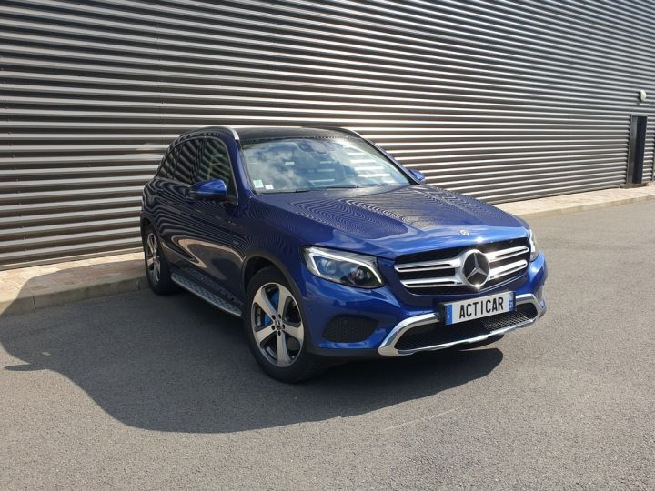 Mercedes GLC 350 e fascination 4matic bva Bleu Occasion - 2