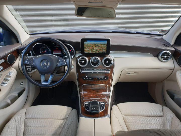 Mercedes GLC 350 e fascination 4matic bva Bleu Occasion - 9