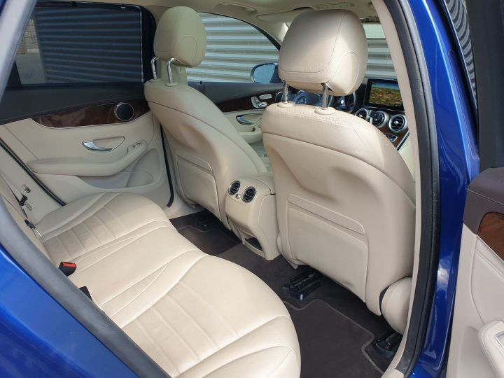 Mercedes GLC 350 e fascination 4matic bva Bleu Occasion - 10
