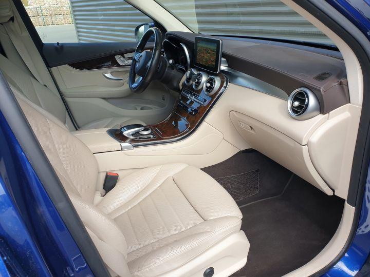 Mercedes GLC 350 e fascination 4matic bva Bleu Occasion - 12