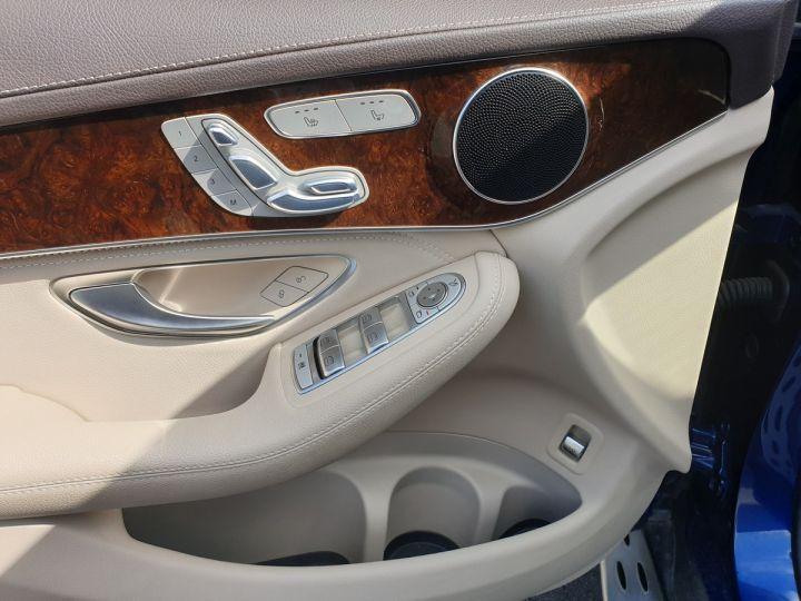 Mercedes GLC 350 e fascination 4matic bva Bleu Occasion - 16
