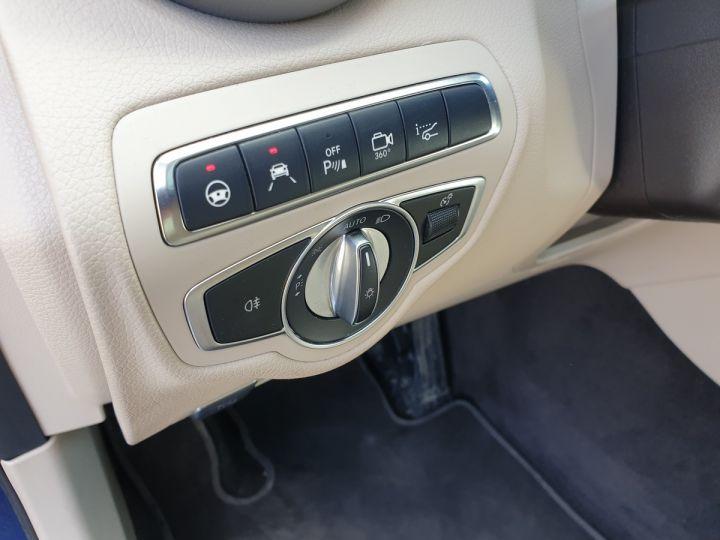 Mercedes GLC 350 e fascination 4matic bva Bleu Occasion - 17
