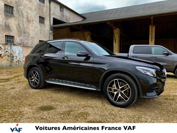 Mercedes GLC 350e Hybride 327cv 4Matic 7G-Tronic plus – CG Gratuite/TVA Apparente EN STOCK  Noir métal Occasion - 3