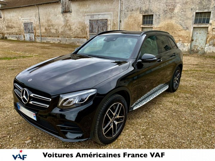 Mercedes GLC 350e Hybride 327cv 4Matic 7G-Tronic plus – CG Gratuite/TVA Apparente EN STOCK  Noir métal Occasion - 4