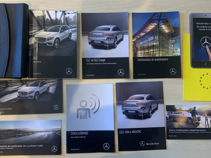 Mercedes GLC 350e Hybride 327cv 4Matic 7G-Tronic plus – CG Gratuite/TVA Apparente EN STOCK  Noir métal Occasion - 17