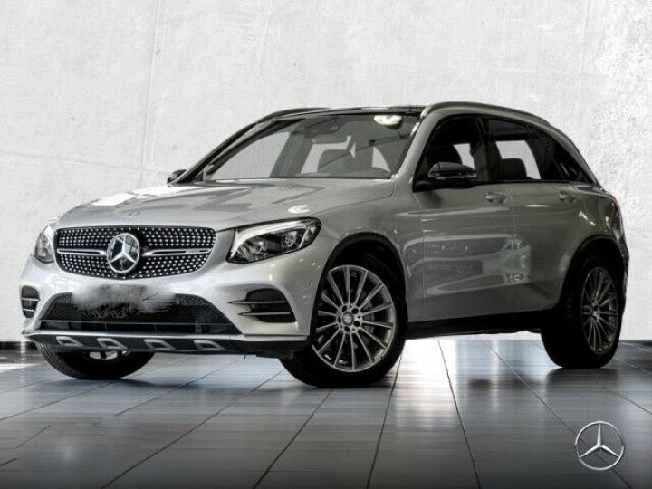 Mercedes GLC 43 AMG 4M  PANO/ BURMESTER  Gris SILVER - 1