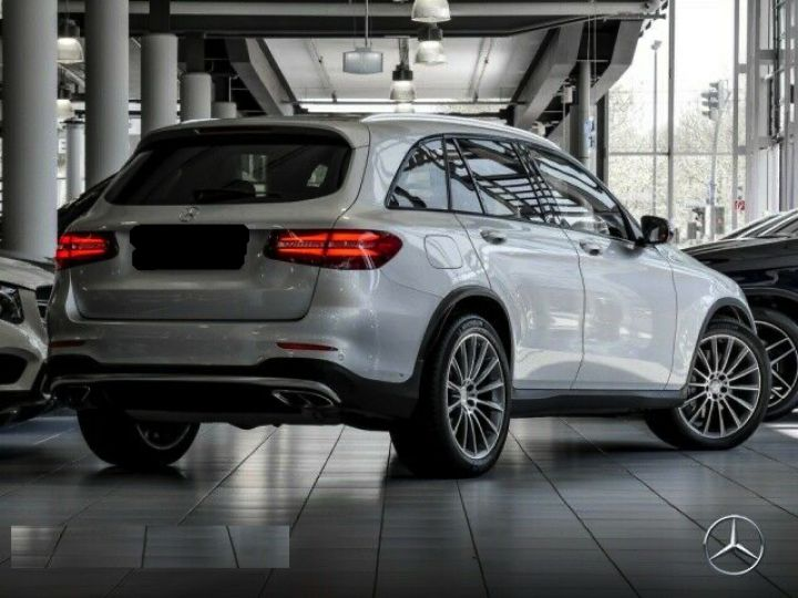 Mercedes GLC 43 AMG 4M  PANO/ BURMESTER  Gris SILVER - 2