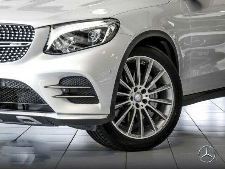 Mercedes GLC 43 AMG 4M  PANO/ BURMESTER  Gris SILVER - 3