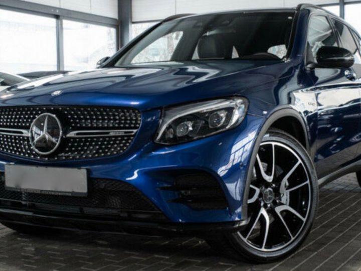 Mercedes GLC 43 AMG 4MATIC 367CH Bleu métallisé - 1