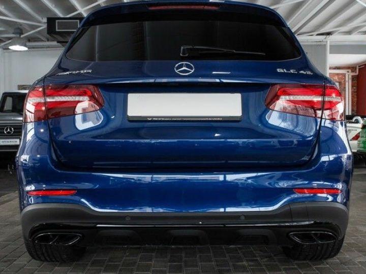 Mercedes GLC 43 AMG 4MATIC 367CH Bleu métallisé - 5