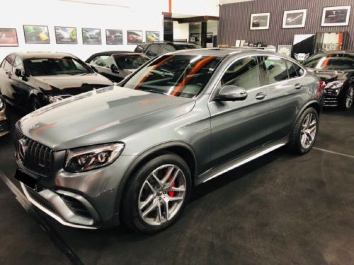 Mercedes GLC 63 AMG S 510CH 4MATIC+ 9G-TRONIC GRIS Occasion - 1