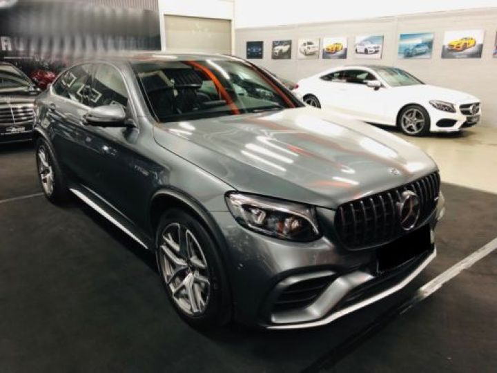 Mercedes GLC 63 AMG S 510CH 4MATIC+ 9G-TRONIC GRIS Occasion - 3