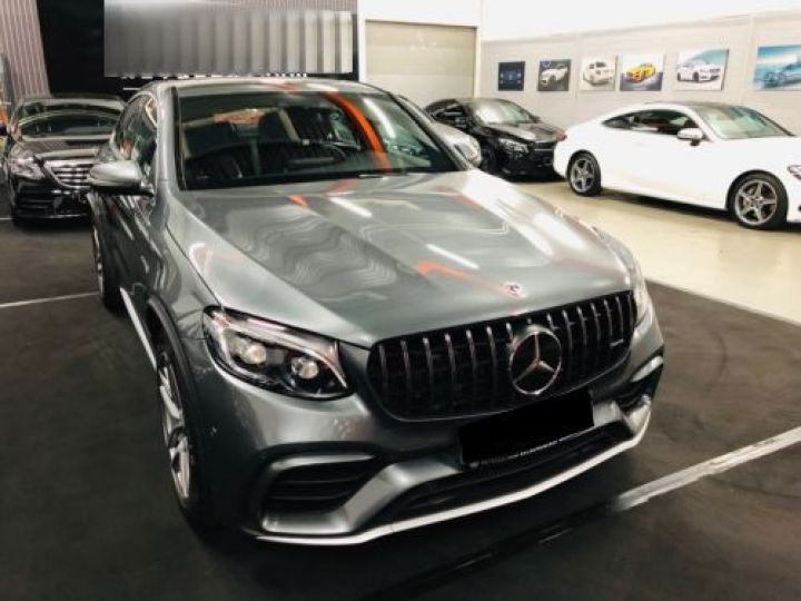 Mercedes GLC 63 AMG S 510CH 4MATIC+ 9G-TRONIC GRIS Occasion - 5