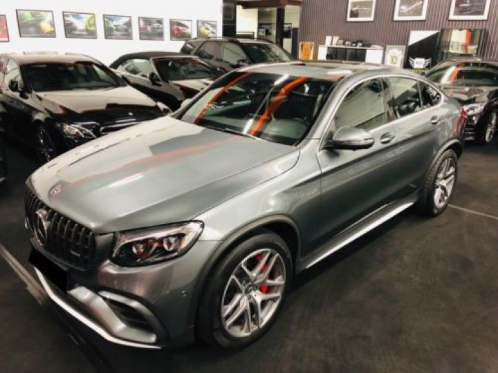 Mercedes GLC 63 AMG S 510CH 4MATIC+ 9G-TRONIC GRIS Occasion - 6