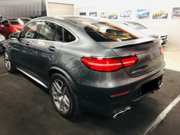 Mercedes GLC 63 AMG S 510CH 4MATIC+ 9G-TRONIC GRIS Occasion - 7