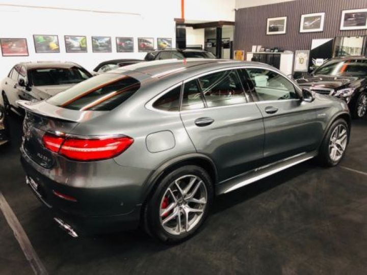 Mercedes GLC 63 AMG S 510CH 4MATIC+ 9G-TRONIC GRIS Occasion - 11