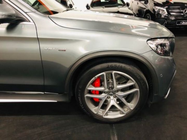 Mercedes GLC 63 AMG S 510CH 4MATIC+ 9G-TRONIC GRIS Occasion - 12