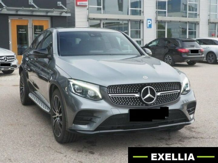Mercedes GLC COUPE 350 D 4 MATIC PACK AMG NIGHT  GRIS Occasion - 1