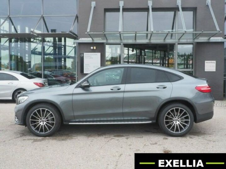 Mercedes GLC COUPE 350 D 4 MATIC PACK AMG NIGHT  GRIS Occasion - 2