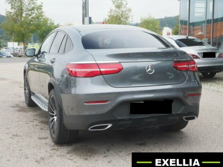 Mercedes GLC COUPE 350 D 4 MATIC PACK AMG NIGHT  GRIS Occasion - 4