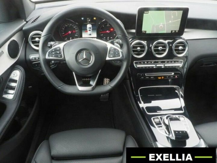 Mercedes GLC COUPE 350 D 4 MATIC PACK AMG NIGHT  GRIS Occasion - 9