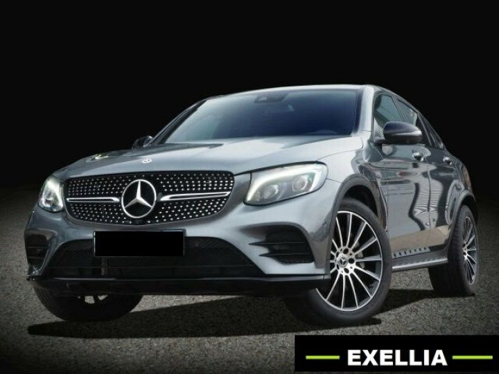 Mercedes GLC COUPE 350 D 4 MATIC PACK AMG NIGHT  GRIS Occasion - 11