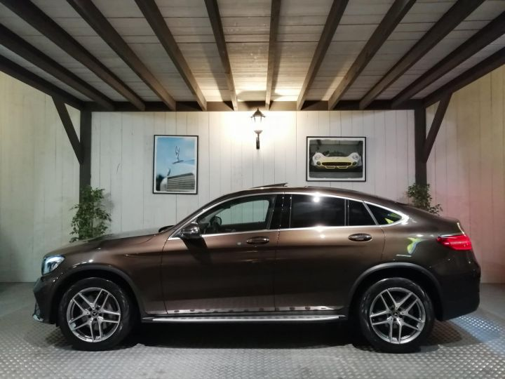 Mercedes GLC Coupé 350D FASCINATION 4MATIC BVA Marron - 1