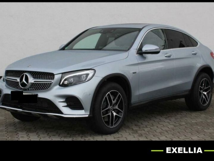 Mercedes GLC COUPE 350e 4 MATIC FASCINATION  GRIS Occasion - 1
